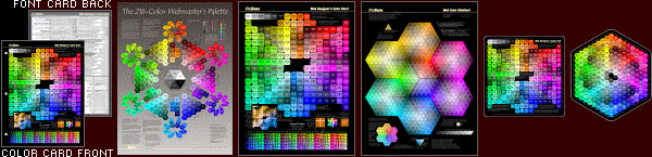 Card, Poster, Charts, Hexagon, Pad - click for closer looks