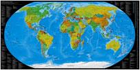 Mappa Mondiale dei Country Code